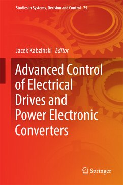 Advanced Control of Electrical Drives and Power Electronic Converters (eBook, PDF)