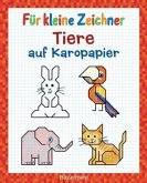 Für kleine Zeichner - Tiere auf Karopapier (Mängelexemplar)