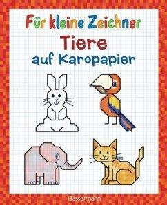 Für kleine Zeichner - Tiere auf Karopapier (Mängelexemplar) - Pautner, Norbert