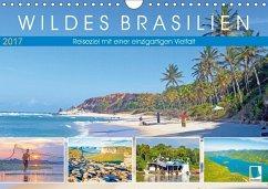 9783665569358 - CALVENDO: Wildes Brasilien: Reiseziel mit einer einzigartigen Vielfalt (Wandkalender 2017 DIN A4 quer) - Buch