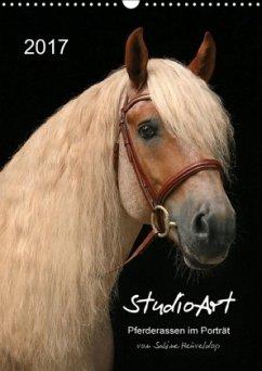 9783665568931 - Heüveldop, Sabine: StudioArt Pferderassen im Porträt (Wandkalender 2017 DIN A3 hoch) - Buch