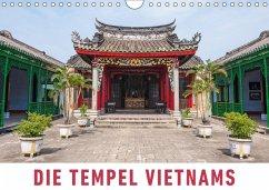 9783665568962 - Ristl, Martin: Die Tempel Vietnams (Wandkalender 2017 DIN A4 quer) - Buch