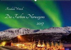 9783665569334 - Wittich, Reinhold: Die Farben Norwegens (Wandkalender 2017 DIN A2 quer) - Buch