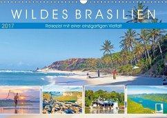 9783665569365 - CALVENDO: Wildes Brasilien: Reiseziel mit einer einzigartigen Vielfalt (Wandkalender 2017 DIN A3 quer) - Buch