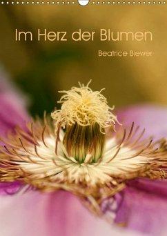 9783665569525 - Biewer, Beatrice: Im Herz der Blumen (Wandkalender 2017 DIN A3 hoch) - کتاب