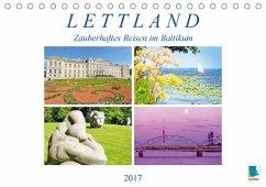 9783665569501 - CALVENDO: Lettland: Zauberhaftes Reisen im Baltikum (Tischkalender 2017 DIN A5 quer) - Buch
