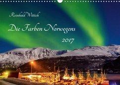 9783665569327 - Wittich, Reinhold: Die Farben Norwegens (Wandkalender 2017 DIN A3 quer) - Buch