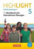 Highlight 5. Jahrgangsstufe - Mittelschule Bayern - Workbook mit interaktiven Übungen auf scook.de