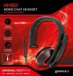 GIOTECK XH50 MONO CHAT HEADSET - Universal Wired Mono Headset (PC, MAC, PS4, XB1, Mobile)