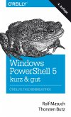 Windows PowerShell 5 - kurz & gut (eBook, PDF)