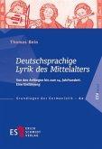 Deutschsprachige Lyrik des Mittelalters
