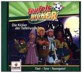 Die Kicker der Tafelrunde! / Teufelskicker Hörspiel Bd.65 (1 Audio-CD)