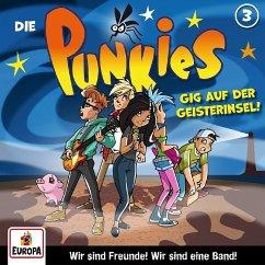 Die Punkies - Gig auf der Geisterinsel, 1 Audio-CD