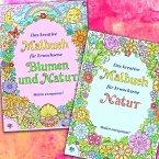 Erwachsenen Malhefte - Natur und Blumen