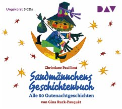Sandmännchens Geschichtenbuch - Alle 60 Gutenachtgeschichten, 3 Audio-CDs - Ruck-Pauquèt, Gina