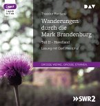 Wanderungen durch die Mark Brandenburg, 1 MP3-CD