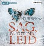 Sag, es tut dir leid / Joe O'Loughlin & Vincent Ruiz Bd.8 (2 MP3-CDs) (Mängelexemplar)
