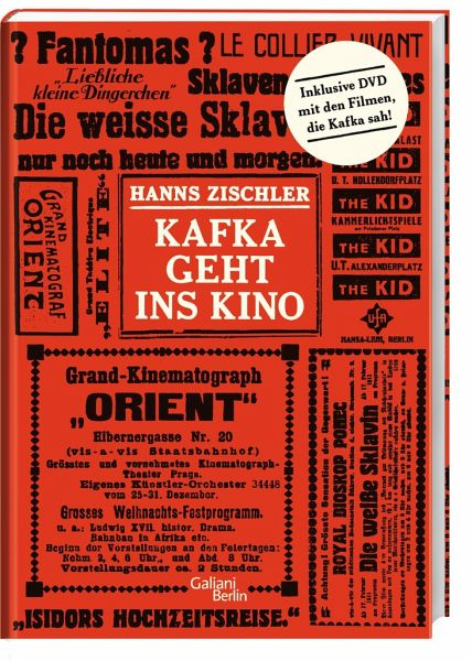 Kafka geht ins Kino - Zischler, Hanns