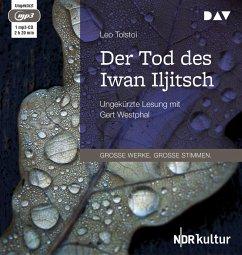 Der Tod des Iwan Iljitsch, 1 MP3-CD - Tolstoi, Leo N.