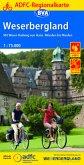 ADFC-Regionalkarte Weserbergland, 1:75.000, reiß- und wetterfest, GPS-Tracks Download