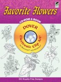 Favorite Flowers CD-ROM and Book [With CDROM]