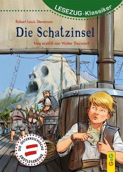 LESEZUG/Klassiker: Die Schatzinsel