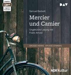 Mercier und Camier, 1 MP3-CD - Beckett, Samuel