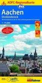 ADFC-Regionalkarte Aachen /Dreiländereck, 1:75.000, reiß- und wetterfest, GPS-Tracks Download