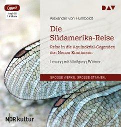 Ansichten der Natur, 1 MP3-CD - Humboldt, Alexander von