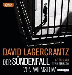 Der Sündenfall von Wilmslow, 2 MP3-CD (Mängelexemplar) - Lagercrantz, David