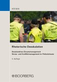 Rhetorische Deeskalation (eBook, ePUB)