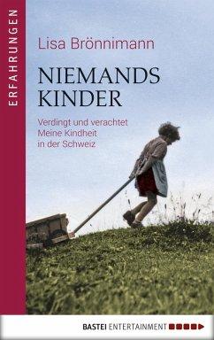 Niemandskinder (eBook, ePUB) - Brönnimann, Lisa