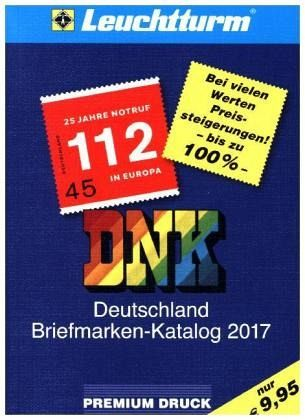 dnk deutschland briefmarken katalog 2017 buch. Black Bedroom Furniture Sets. Home Design Ideas