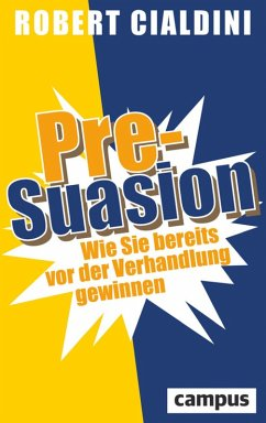 Pre-Suasion (eBook, ePUB) - Cialdini, Robert