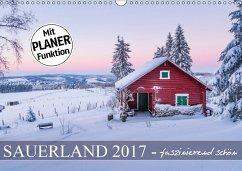 9783665567477 - Bücker, Heidi: Sauerland - faszinierend schön (Wandkalender 2017 DIN A3 quer) - Buch