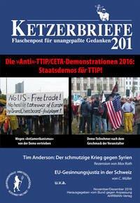 Die »Anti«-TTIP/CETA-Demonstrationen 2016 - Staatsdemos für TTIP!