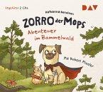 Abenteuer im Bammelwald / Zorro, der Mops Bd.1 (2 Audio-CDs)