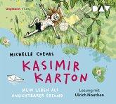 Kasimir Karton - Mein Leben als unsichtbarer Freund, 3 Audio-CDs