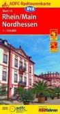 ADFC-Radtourenkarte Rhein/Main Nordhessen 1:150.000, reiß- und wetterfest, GPS-Tracks Download