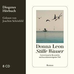 Stille Wasser / Commissario Brunetti Bd.26 (7 Audio-CDs) - Leon, Donna