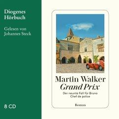 Grand Prix / Bruno, Chef de police Bd.9 (8 Audio-CDs) - Walker, Martin
