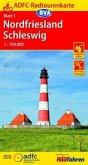 ADFC-Radtourenkarte Nordfriesland /Schleswig 1:150.000