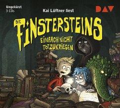 Einfach nicht totzukriegen / Die Finstersteins Bd.2 (3 Audio-CDs) - Lüftner, Kai