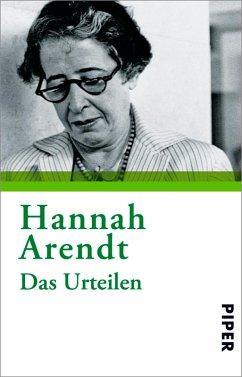 Das Urteilen (eBook, ePUB) - Arendt, Hannah