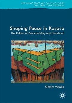 Shaping Peace in Kosovo - Visoka, Gëzim
