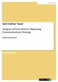 Analysis of Tesla Motors' Marketing Communications Strategy (eBook, PDF)