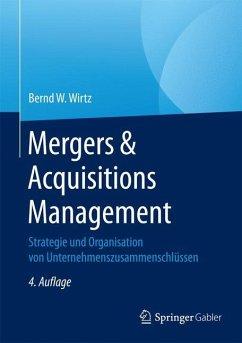 Mergers & Acquisitions Management - Wirtz, Bernd W.