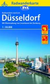 BVA Radwanderkarte Radwandern rund um Düsseldorf, 1:50.000
