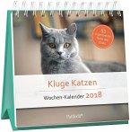 Kluge Katzen, Wochen-Kalender 2018