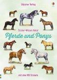 Sticker-Wissen Natur: Pferde und Ponys